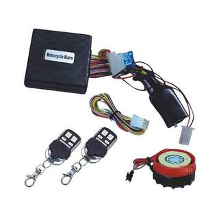 Motorcycle Alarm with Remote Control