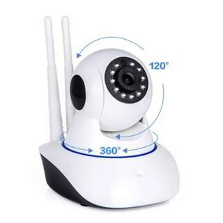 Color Robotic IP WIFI Camera with Night Shot