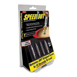 Damaged Speed ​​Out Screwdriver Set