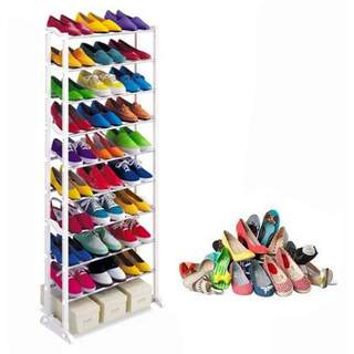 Storage Wardrobe for 30 Pairs of Shoe Rack Shoes