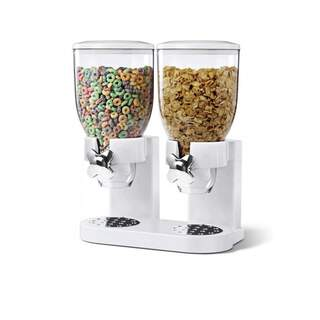 Double Manual Cereal Dispenser