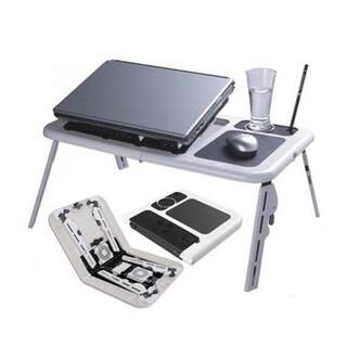 Folding Laptop Table with Cooling Stand
